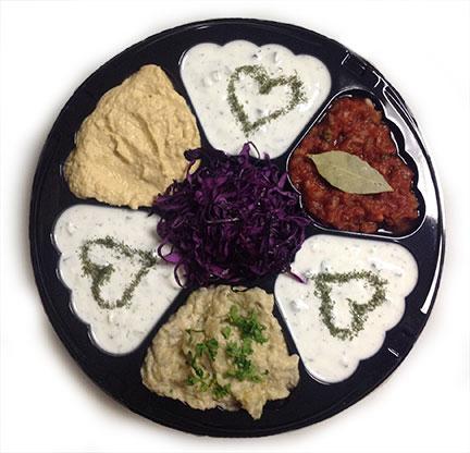Catering Platter from Amsterdam Falafelshop